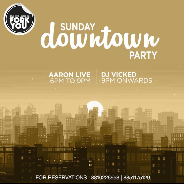 Sunday Downtown Party - Best Clubs in Delhi